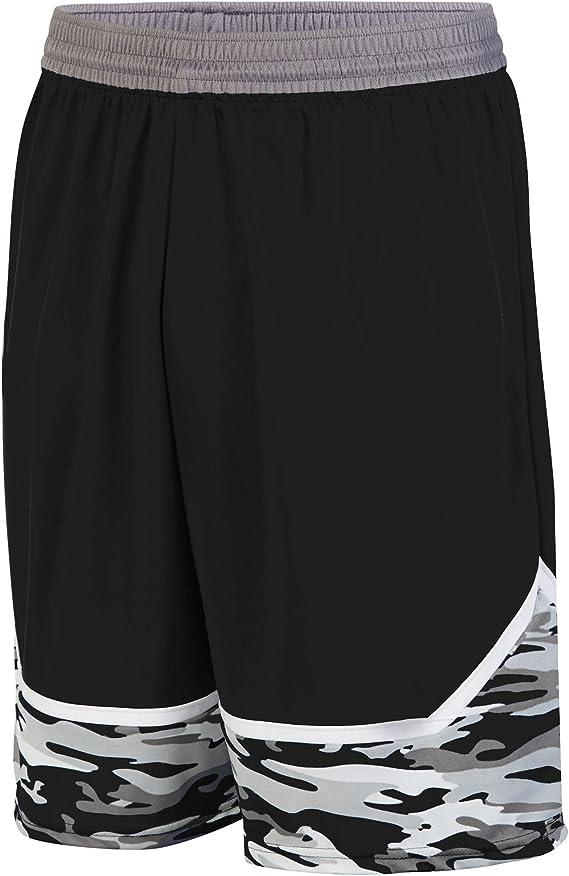 Dark Green//Graphite//White Augusta Sports Mod Camo Game Jersey Large Youth