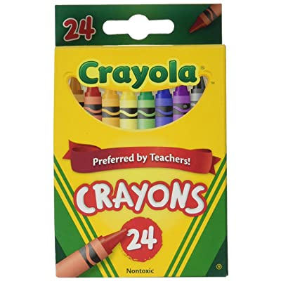 Crayola Crayons, 24 Count (52-3024) Case of 12 Packs: Toys & Games