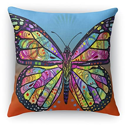 Amazon.com: imagesprinted mariposa 18.1 x 18.1 inch ante ...