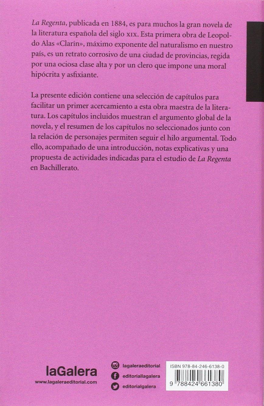 La Regenta (La llave maestra): Amazon.es: Leopoldo Alas, Joan Estruch Tobella: Libros