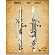 Bassoon - 11x14 Unframed Patent Print - Great Gift for Bassoon Players