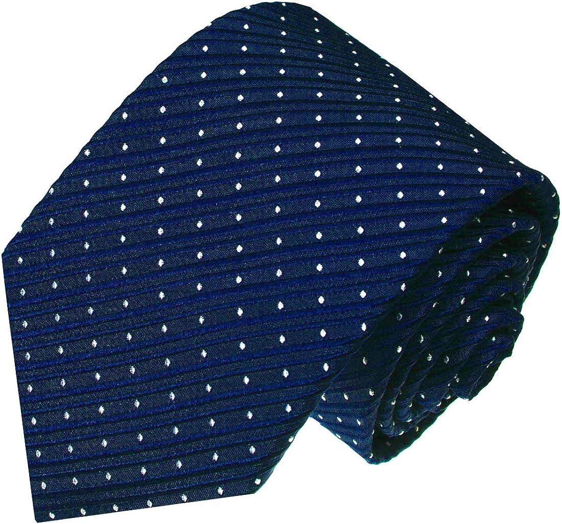 LORENZO CANA – Marcas corbata azules de 100% seda – Marino Azul ...
