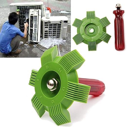 XuBaofu-SH, 2019 Radiador Universal Condensador Aleta Peine Aire ...