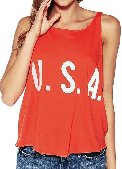 YLnini Women Chiffon Tank Tops Letter Print Sleeveless Blouse Orange XS at  Amazon Women s Clothing store