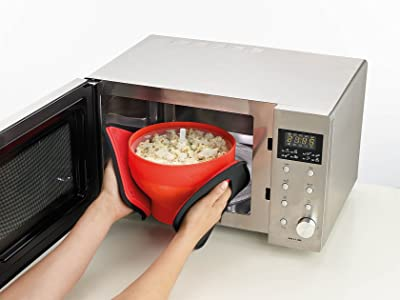 Lekue 1-Piece Popcorn Maker
