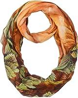 Summer Infinity scarves - Animal print scarf – Eye glasses print - With dog design - Cat design – Ocean creatures/sea shells print