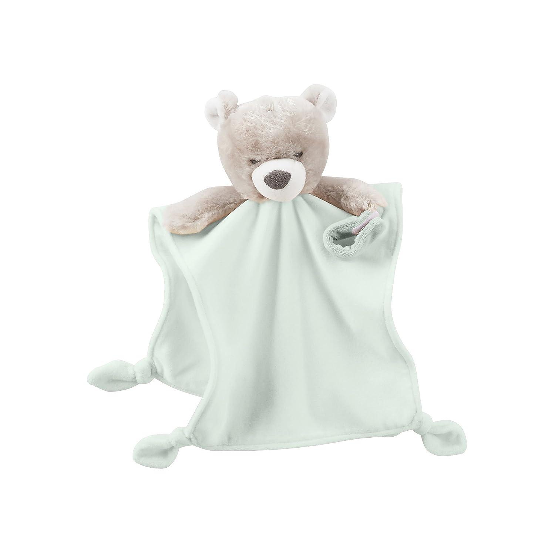 carter s baby plush cuddle bear rattle security