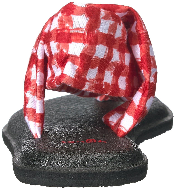 Sanuk Damen Yoga Sling 2 2 2 Prints Zehentrenner  abf672