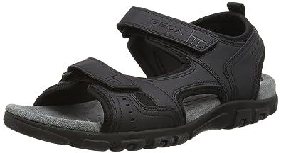 c4203c194f81 Geox Men s Strada a Platform Sandals  Amazon.co.uk  Shoes   Bags