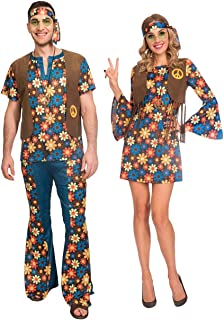 Amazon.com: Vestido de disfraz para parejas, para damas y ...