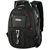 Cross Gear TSA Laptop Backpack with USB Charging Port & Combination Lock