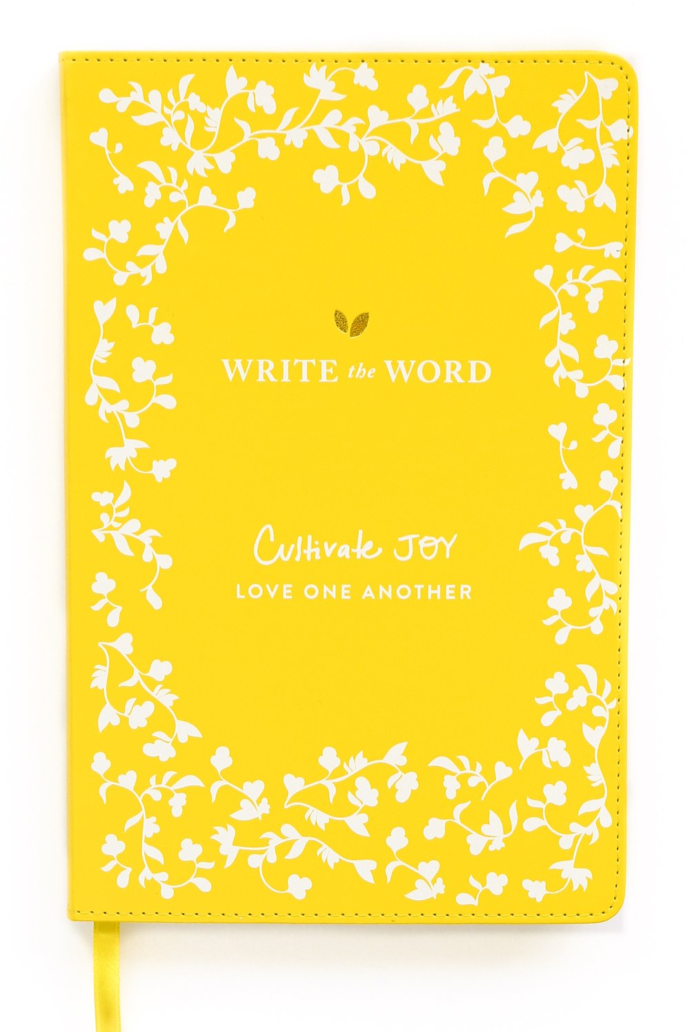 Write the Word Bible Journal: Scripture Faith Journal by Lara Casey (Yellow) by Lara Casey Shop (Image #1)