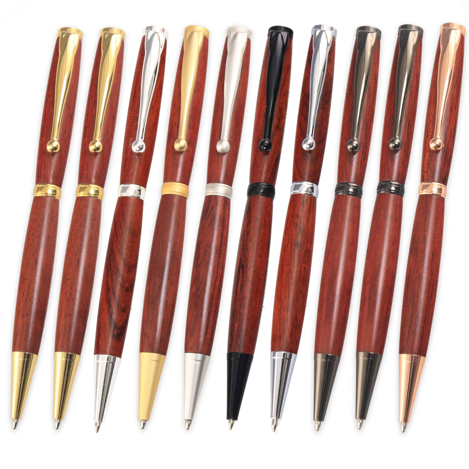 Legacy Woodturning Fancy Pen Kit 10 Piece Variety Pack by Legacy Woodturning