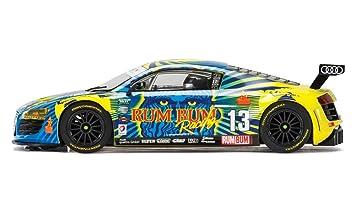 Scalextric Audi R8 Lms Rum Bum Racing 1 32 Slot Car C3854 Vehicle Replica