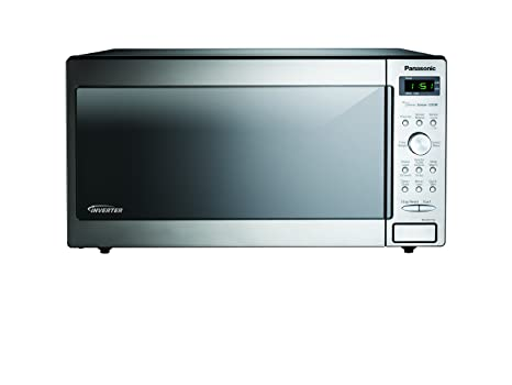 Amazon.com: Panasonic nn-sd772saz inoxidable 1.6 Cu. Ft ...