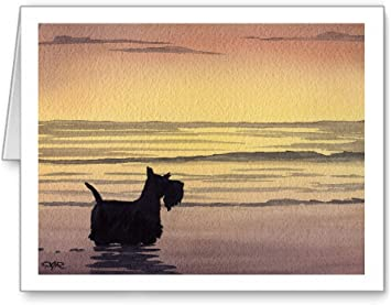 Scottish Terrier Note Cards