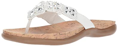 c781422a9dfc Image Unavailable. Image not available for. Color  Kenneth Cole REACTION  Women s Glam-athon Flat Sandal ...