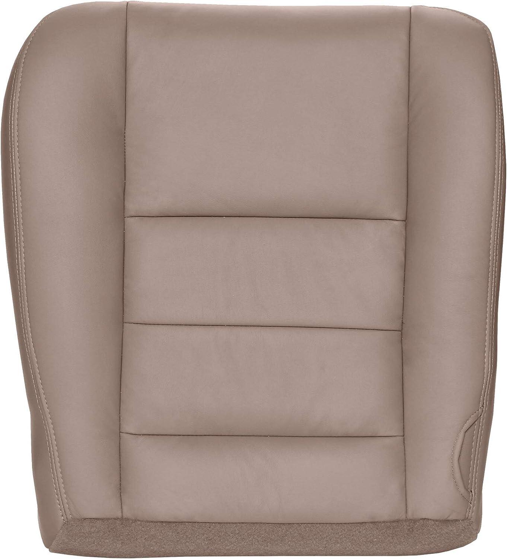 2005-2007 Ford F250 F350 Driver Armrest Cover Medium Pebble Tan Vinyl