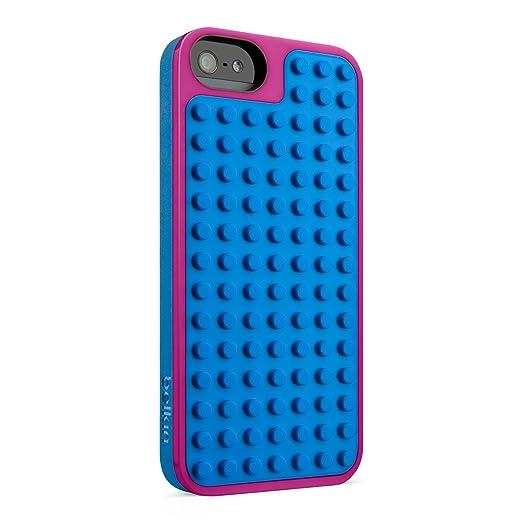 14 opinioni per Belkin F8W283vfC01 Cover Lego per iPhone 5, Rosa/Blu