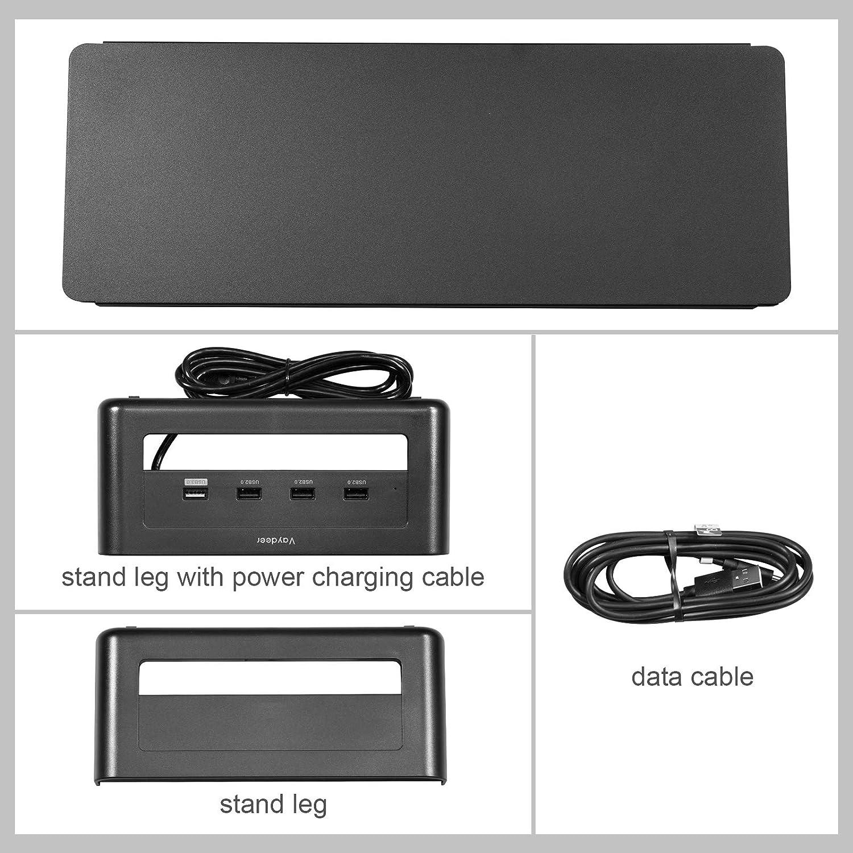 ghdonat.com VAYDEER Metal Monitor Stand Riser with USB3.0 Hub ...