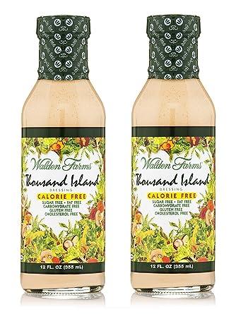 Walden Farms Thousand Island Dressing Kalorienfreie Salat Sauce 2