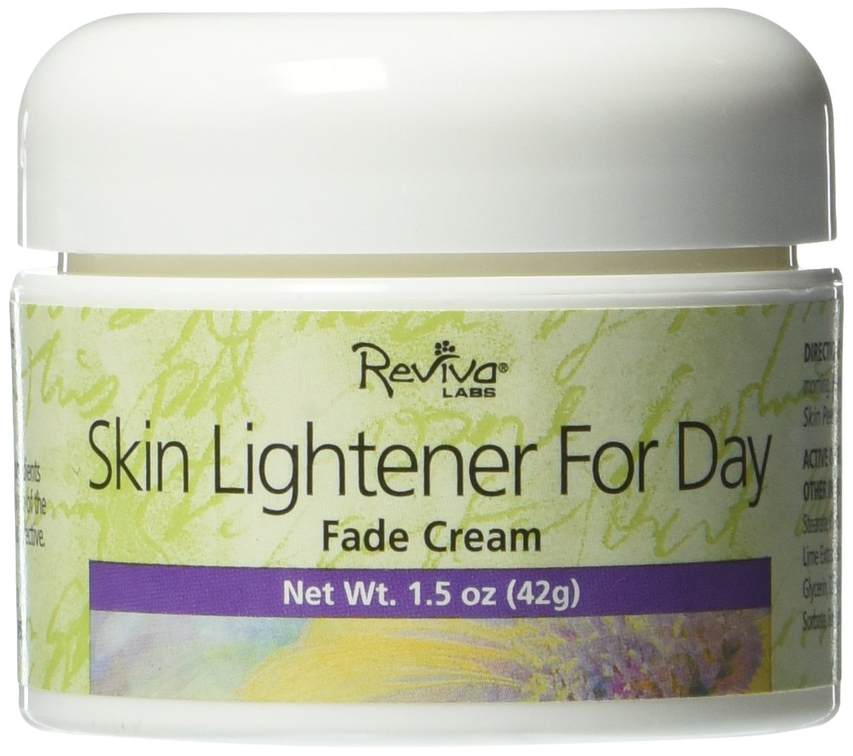 Reviva Labs Skin Lightener for Day Fade Cream, 1.5 Ounce