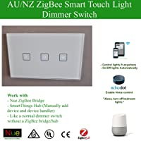 Smart ZigBee Light/Fan Dimmer AU/NZ Approved Switchfor Wireless Home Automation Google Home Amazon Echo Dot Alexa Voice Lighting Control