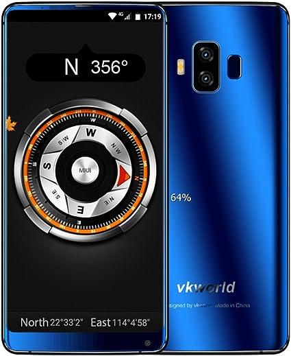 Smartphone sin Contrato, vkworld S8 4 G Android 7.0, 5.99 pulgadas ...