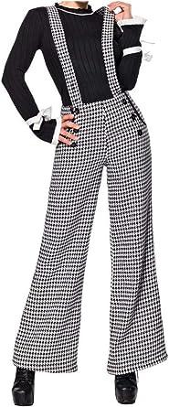 Belsira Marlene Pantalones Con Tirantes Para Mujer Amazon Es Ropa Y Accesorios
