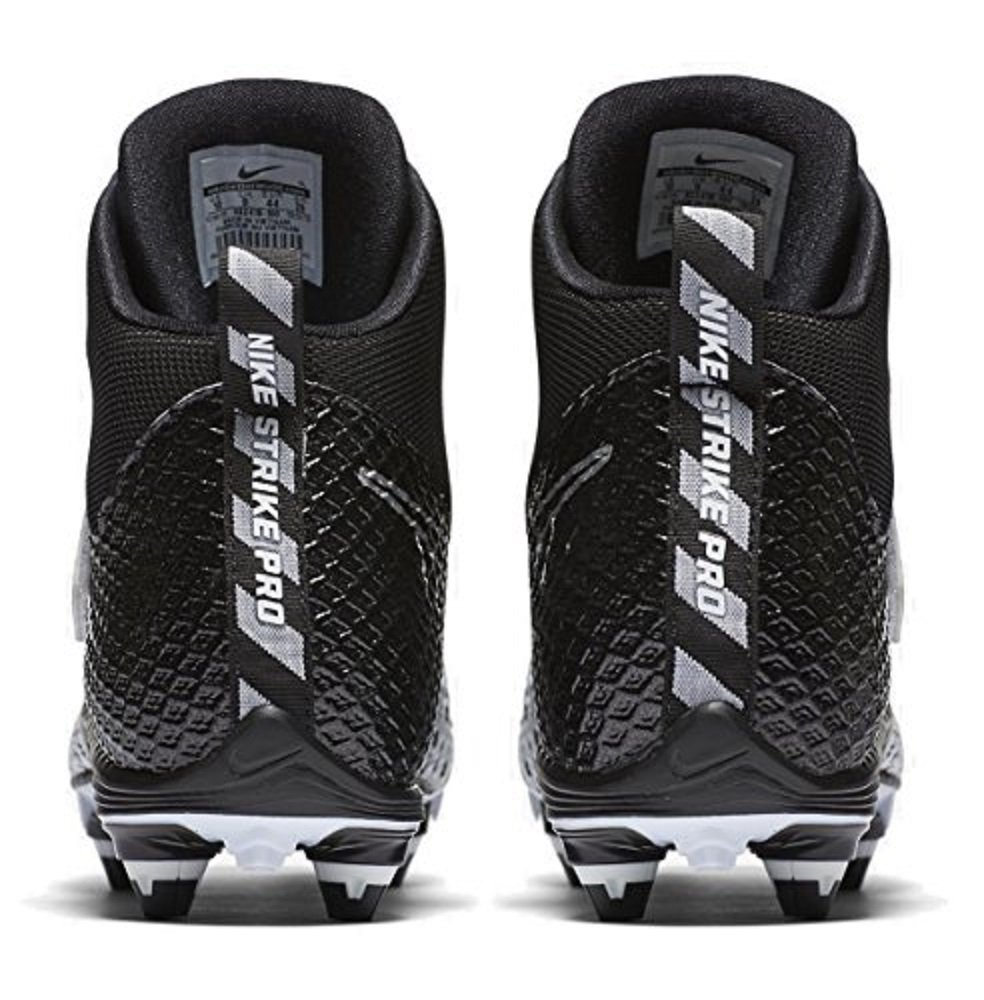 Nike Lunarbeast Pro D Football Cleats (8 D(M) US, White / Black-Black) by Nike (Image #6)