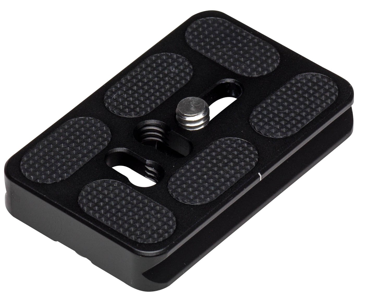 Induro Tripods PU60 Arca-Swiss Style Universal Quick Release Plate (Black) by Induro