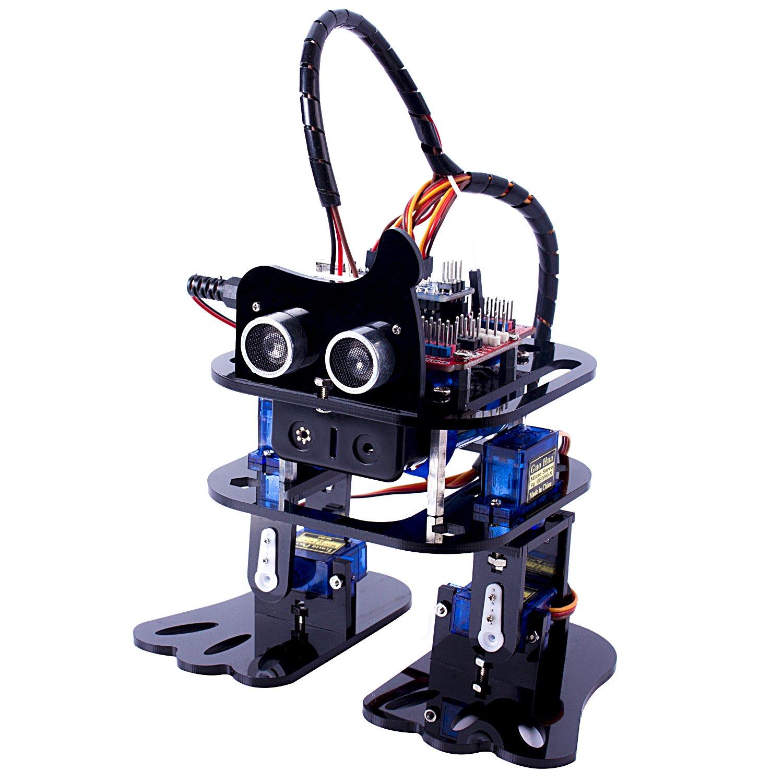 Kit armar robot inteligente sloth patas evita obstaculos
