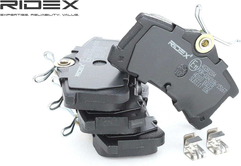 Scheibenbremse Set of 4 RIDEX 402B0284 Bremsbelagsatz