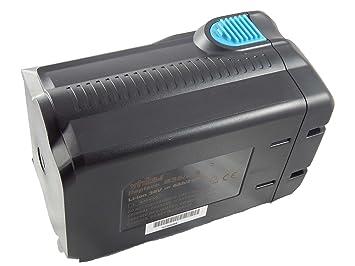vhbw - Batería de ion de litio de 6000 mAh para herramientas ...