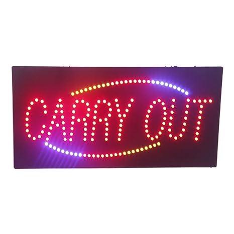 Cartel de luz LED para llevar a cabo publicidad eléctrica ...