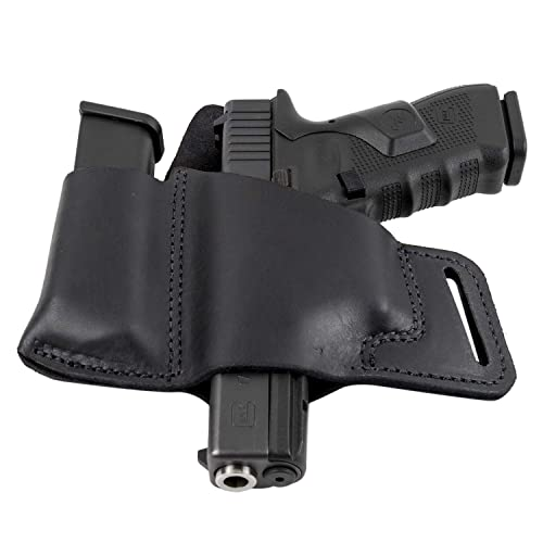 Relentless Tactical Comfort Carry Leather Holster & Mag Pouch Combo