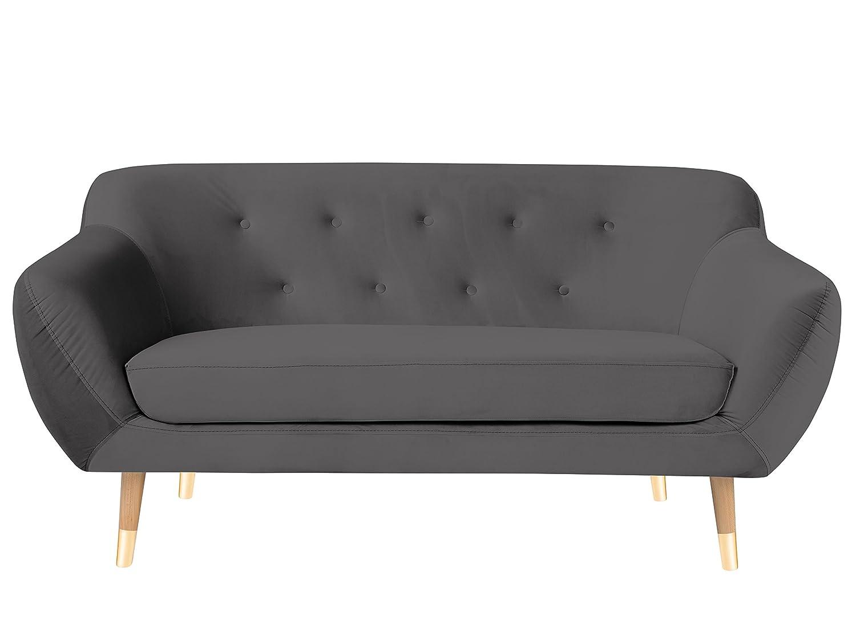 Mazzini Sofas sofá Fijo, Tejido, Gris, 158 x 73 x 83 cm ...