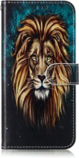 Lomogo Samsung Galaxy A9 (2018) / A920 Case, Leather Wallet Case with Kickstand Card Holder Shockproof Flip Case Cover for Samsung Galaxy A9 (2018) - LOYHU010031#1