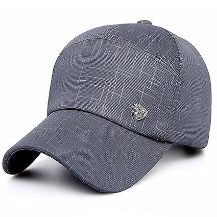 Arvin87Lyly Gorra de béisbol Polo Estilo clásico Deportivo Casual Liso Sombrero para el Sol