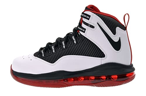 new concept bb3a4 028b8 Nike Kid s Air Max Darwin 360 GS, WHITE BLACK-VARSITY RED, Youth