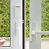 easymaxx 02481 Security - Sistema de Alarma para Puertas y Ventanas, tecnología de Sensor magnético