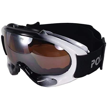 Polarlens PG22 Ski Goggles, Snowboard Goggles, Winter Sports Goggles with FLASH MIRROR is Helmet Compatible with Extra-Long Adjustable Strap