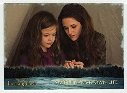 Amazon Com More Than My Own Life Trading Card The Twilight Saga Breaking Dawn Part 2 2012 Neca 56 Mint Toys Games