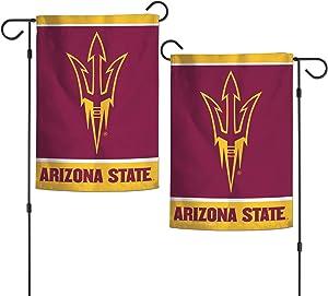 "WinCraft NCAA Arizona State Sun Devils 12.5"" x 18"" Inch 2-Sided Garden Flag Logo"