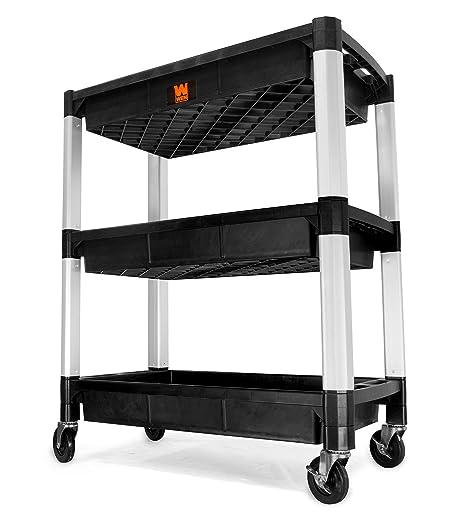 Amazon.com: WEN 73002 Carrito de servicio de capacidad de ...