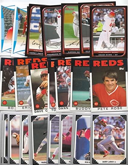 Cincinnati Reds 1000 Reds Baseball Cards All Different With 2018