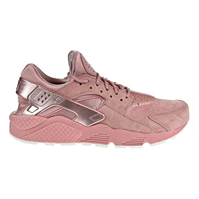 225288eb8fb NIKE Air Huarache Run Premium Men s Running Shoes Rust Pink MTLC Red  Bronze-Sail