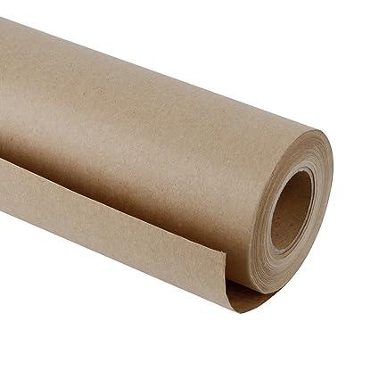 Amazon Com Ruspepa Brown Kraft Paper Roll 48 Inch X 100 Feet