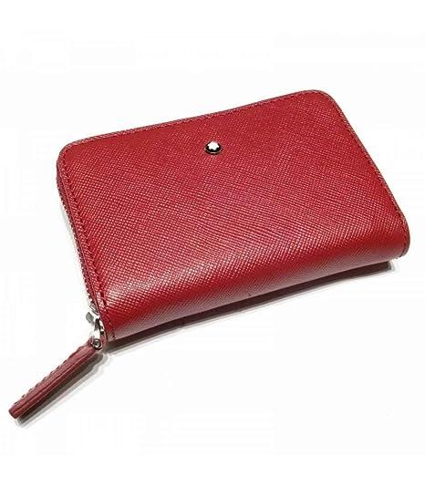 Montblanc Monedero, Rojo (Rojo) - 113257: Amazon.es: Equipaje