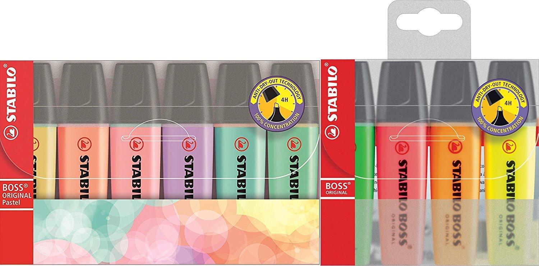 Stabilo Boss Original Pastel Evidenziatore - Astuccio da 4 70/4-2